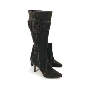 Circa & Joan David Antoine Suede Leather Boots